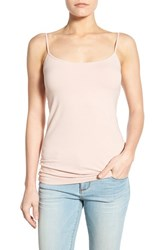 Women's Halogen 'Absolute' Camisole Pink Smoke