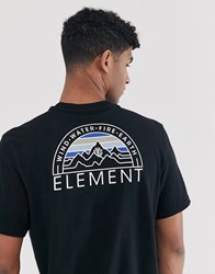 Element Odyssey T Shirt In Black