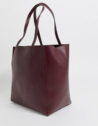 French Connection Liv Tote Handbag Red