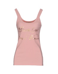 Just For You Tank Tops Light Green