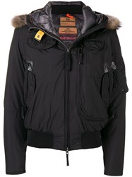 Parajumpers Hooded Bomber Jacket Black