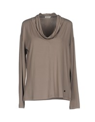 Henry Cotton's T Shirts Dove Grey