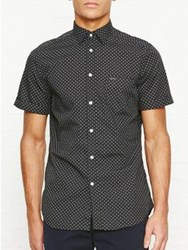 Diesel Dusk Short Sleeve Dot Shirt Black