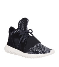 Adidas Originals Tubular Defiant Snake Print Sneakers Female Black