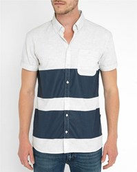 Minimum Navy Felipe Pr Shirt Blue