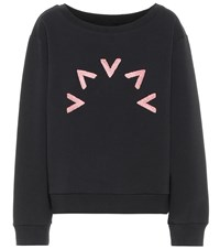 Varley Chalmers Cotton Blend Sweatshirt Black