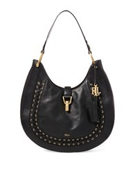 Lauren Ralph Lauren Ashfield Abree Hobo Bag Black
