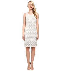 Rsvp Alexius Shimmer Dress Gold White Women's Dress Multi