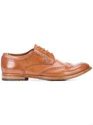 Officine Creative Anatomia 3 Derby Shoes Men Buffalo Leather Calf Leather 42 Brown