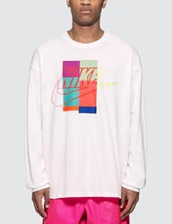Nike X Atmos Long Sleeve T Shirt White