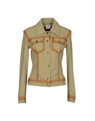 Gianfranco Ferre Ferre' Jeans Blazers Light Green