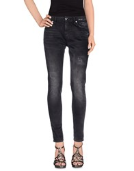 Max And Co. Denim Denim Trousers Women Black