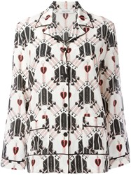 Valentino Patterned Blouse