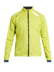 Soar Lightweight Waterproof Running Jacket Yellow