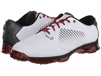 Callaway X Nitro White Grey Crimson Men's Golf Shoes Gray