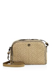 Eric Javits Courbe Textured Satchel Antique Peanut