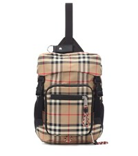 Burberry Leo Backpack Beige