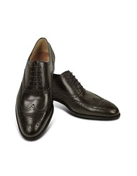Fratelli Rossetti Dark Brown Calf Leather Wingtip Oxford Shoes