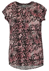 Junarose Jrhilden Print Tshirt Faded Rose Pink