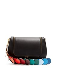 Anya Hindmarch Vere Leather Cross Body Bag Black Multi