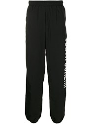 Misbhv Youth Core Track Trousers Black