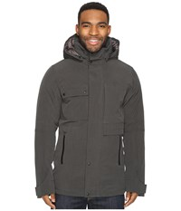 Nau Blazing Down Jacket Caviar Heather Men's Coat Black