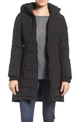 Guess Women's Quilted Hooded Puffer Coat