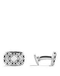 David Yurman Frontier Cufflinks Silver