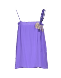 Annarita N. Tube Tops Purple