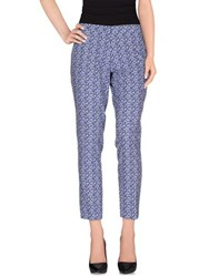 Maesta Trousers Casual Trousers Women Blue
