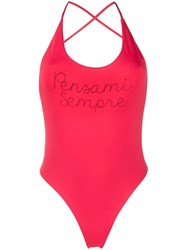 Giada Benincasa Open Back Halterneck Swimsuit 60