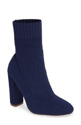 Charles By Charles David Iceland Bootie Deep Navy Fabric