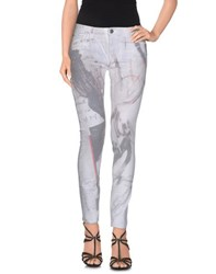 Each X Other Denim Denim Trousers Women White