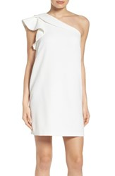 Women's Greyline One Shoulder Shift Dress White