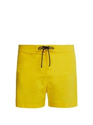 Bower Slim Fit Swimshorts Yellow