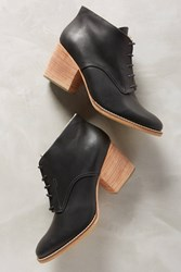 Anthropologie Rachel Comey Ibex Lace Up Booties Black