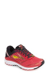 Brooks Women's 'Ghost 9' Running Shoe Azalea Black Cyber Yellow