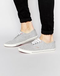Jack And Jones Jack And Jones Spider Canvas Plimsoll Grey