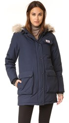 Penfield Lexington Hooded Mountain Parka Navy