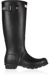 Hunter Tall Wellington Boots Black