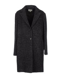 Trou Aux Biches Coats Steel Grey