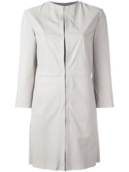 Drome Single Breasted Coat Nude Neutrals