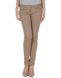 Only 4 Stylish Girls By Patrizia Pepe Casual Pants Light Brown
