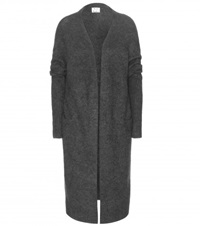 Acne Studios Raya Wool And Mohair Blend Cardigan Grey