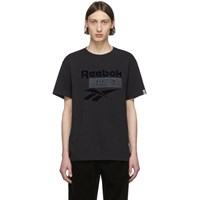 Nanamica Black Reebok Edition Vector T Shirt