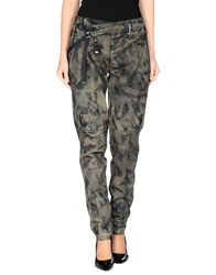 High Jeans Military Green