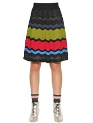 M Missoni Viscose Blend Knit Dress