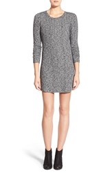 Junior Women's Everly Ribbed Long Sleeve Sweater Dress