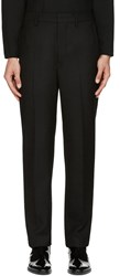 Christophe Lemaire Black Suit Trousers