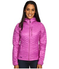 Outdoor Research Verismo Hooded Jacket Ultraviolet Women's Coat Pink